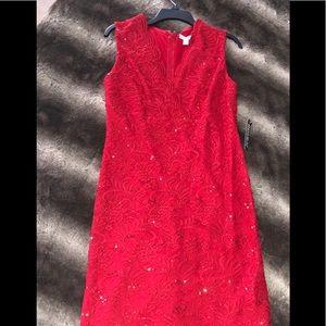 NWT Sequin Red Dress NY&CO